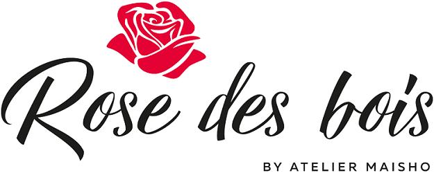 logo rose des bois atelier maisho fleuriste neuilly